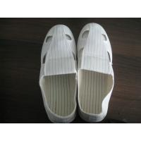 Comfortable ESD Safety Shoes Four Hole Anti Static Cloth For Food Industrial Manufactures