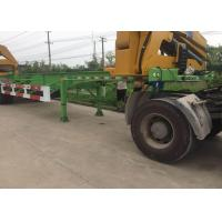 Side Lifter 3 Axles Truck Mounted Crane 20ft 40ft FUWA Brand Tri Axle Manufactures