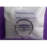 Cheap Dapoxetine Hydrochloride Sex Enhancing Drugs For Male Premature Ejaculation , CAS 129938-20-1 for sale