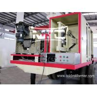 China Curving Roof Panel Roll Forming Machine Shanghai on sale