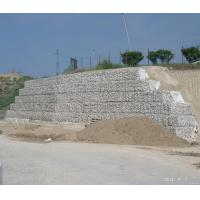 retaining wall hexagonal wire netting slope stabilisation mesh 80*100mm Manufactures