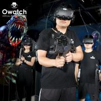 Owatch-9D VR 4 Players Team Up Against Monsters Htc Vive Virtual Reality Vr Htc Spacevr Shooting Manufactures