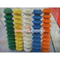 PVC Coated Chain Link Fabric Security Fencing Manufactures