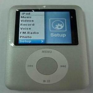 1.8 inch iPod Nano 3rd Generation Mp4 Player