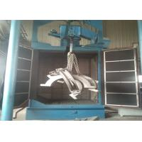 Steel Parts Hanger Type Shot Blasting Machine Descaling Function Customized Design Manufactures
