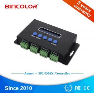 Artnet DMX512 RGB led IC  TM 1814 RGBW led pixel ws2812 matrix 16 channel dmx controller Manufactures