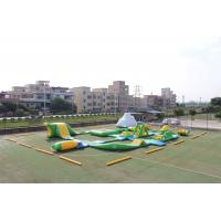 Buy cheap Giant Adult Inflatable Aqua Park , Fireproof PVC Inflatable Water Park Games from wholesalers