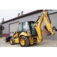 Used caterpillar 420E front end loader heavy machinery backhoe