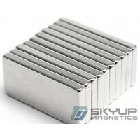 Buy cheap Square/Block Ndfeb/Neo Magnet For MRI, Wind Generator, Magnetic Sensors from wholesalers