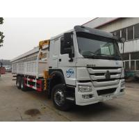 HOWO Truck Mounted Mobile Crane 5 Tons 4X2 LHD ZZ1127G4215C1 Manufactures