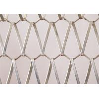 Metal Link Decorative Wire Mesh Panels Spiral Decorative Net For Curtain Manufactures