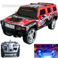 RC Radio Control Hummer Toy,RC Remote Controlled Dancing Car With Lights, MP3 Fucntion (Rcc67299) Manufactures