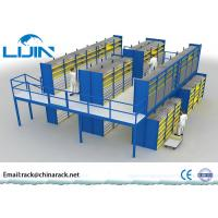 Heavy Duty Rack Supported Mezzanine System Q235 Steel Material AS4084 Approval Manufactures