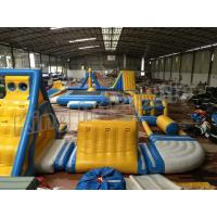 Giant Inflatable Water Parks , Inflatable Aqua Park Equipment  For Adults And Kids Manufactures