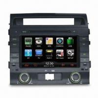 GPS Car Navigation System with USB Port and Steering Wheel Control Ready Manufactures