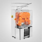 120W Fresh Squeezed Orange Juice Vending Machine Auto Feed Hopper