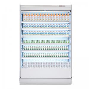 Supermarket Multideck Open Drink Fridge / Milk Display Chiller Manufactures