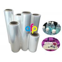 19 Micron Polyolefin Shrink Film For Book Packing Over 60% Shrinkage Ratio Manufactures