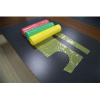 Embossed Single Folded Disposable Plastic Aprons For Adults With Tie Manufactures
