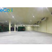 Eco Friendly Meat Cooler Refrigeration Units / Large Modern Cold Storage Manufactures