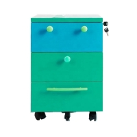 515 Mm Three Drawer File Cabinet With Wheels Manufactures
