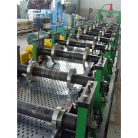 200 - 500mm Width Cable Tray Scaffolding Walk Board Rolling Form Machine 4 - 6 M / Min Manufactures