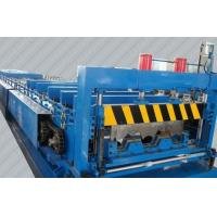 China Steel Structure Metal 688 Deck Roll Forming Machine , Galvanized Floor Decking Roll Former Machine on sale