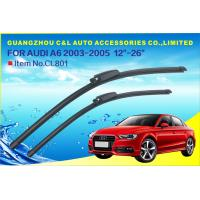 Special Wiper Audi A4 A6 Car Wiper Blade Natural Rubber With Teflon Coating Manufactures