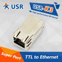 Quality [USR-K3] Embedded TTL to Ethernet server TCP/IP module, DHCP,HTTPD client, for sale