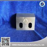 Triple Tempt Zerma Plastic Crusher Blades , Plastic Granulator Parts HRC 56-58 Manufactures