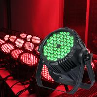 54 3W Waterproof PAR64 Event LED Effect Light Manufactures