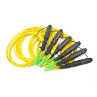 Buy cheap H Connector 1 fiber single mode cable matching with Corning OptiTap Hardened from wholesalers