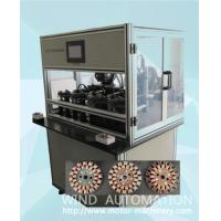 Four station ventilator coil winder ceiling fan winding machine with servo system WIND-CFW Manufactures