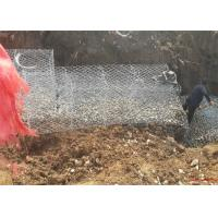 River Protection Gabion Reno Mattress With Zn - Al Coated Wire Material Manufactures