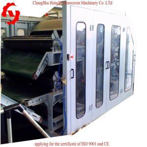 1.5m Nonwoven Fiber Cotton Cotton Carding Machine Capacity 60m/Min CE / ISO9001
