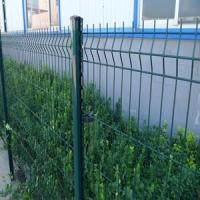 Buy cheap Decorative Green RAL6005 Weld Wire Mesh Fencing Electric Galvanized For Public from wholesalers