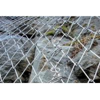 High quality galvanized steel wire mesh Rockfall Mesh Slope Stabilization System Manufactures