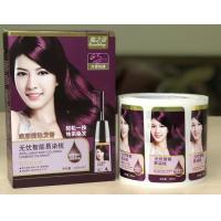 Packaging Adhesive Metallic Product Labels For Shampoo Bottle Label Printing Manufactures