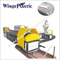 PVC Steel Wire Reinforced Pipe Hose Production Line / Making Machine / Extrusion Line Manufactures