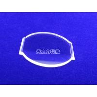 85% - 99% Transmissivity Synthetic Sapphire Glass H9/HV1800-2200 Hardness Manufactures