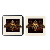 SGS 3d Lenticular Picture With PS Frame 0.6mm Pet Thickness 5d Photos Manufactures