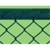 Heavy Protecting PVC Chain Link Fencing / Green Wire Mesh Fencing For Zoo Protection Manufactures