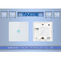 11AC Dual Band In Wall Wireless Access Point , Multi SSID FIT Wall Plate AP For Home Manufactures