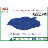 Cotton Dyes Blue Dye Stuff Rsn Vat Blue 4 Chemicals Used In Textile Dyeing Manufactures