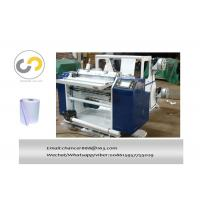 China 2ply thermal paper slitting and rewinding machine, carbonless paper roll slitter rewinder on sale