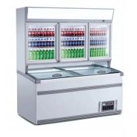 2.5m Upright Combination Freezer And Chiller With Large Space For Supermarket Manufactures