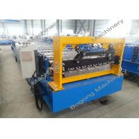 Roof Sheet Metal Roll Forming Machine /  Aluminium Sheet Roofing Machine Manufactures