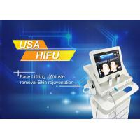China USA Version High Intensity Focused Ultrasound Machine for winkle removal on sale