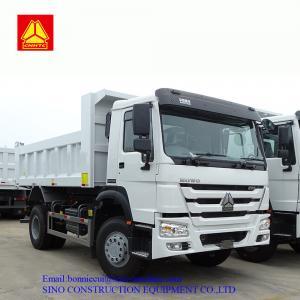 3.8m 10T HW70 Cab Heavy Duty Dump Truck Six Wheels Manufactures