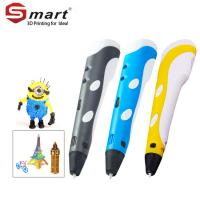 China Lightest intelligent thermal heating ABS material v4 generation 3d printing pen on sale